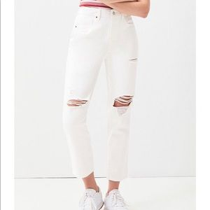 Pac Sun Ripped White Jeans.